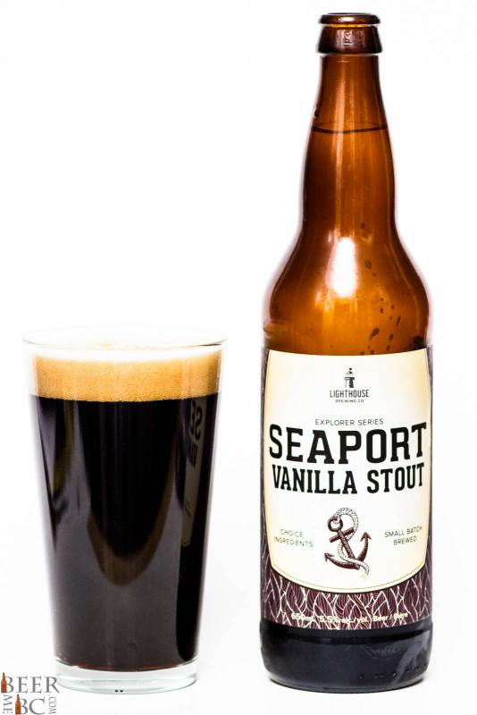 Lighthouse Brewing Seaport Vanilla Stout Review