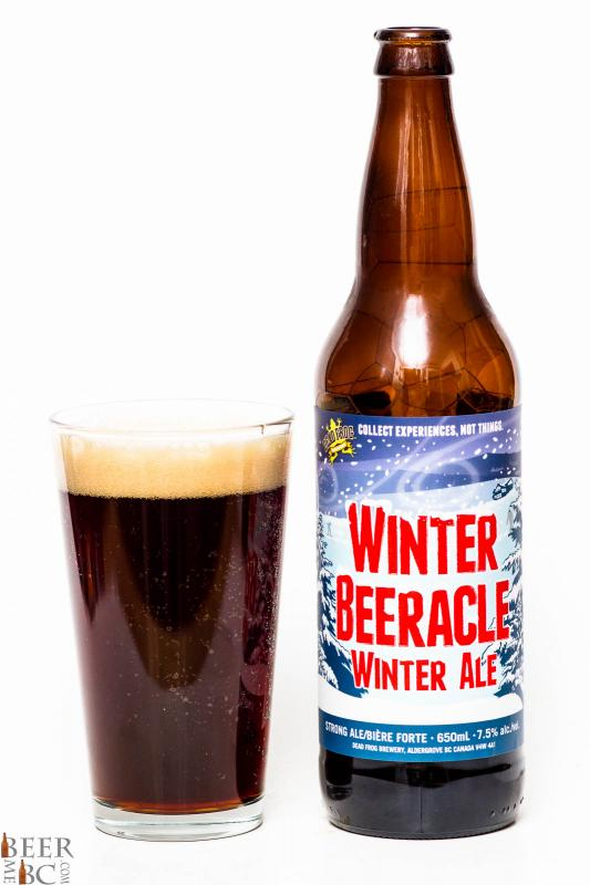Dead Frog 2014 Winter Beeracle Winter Ale