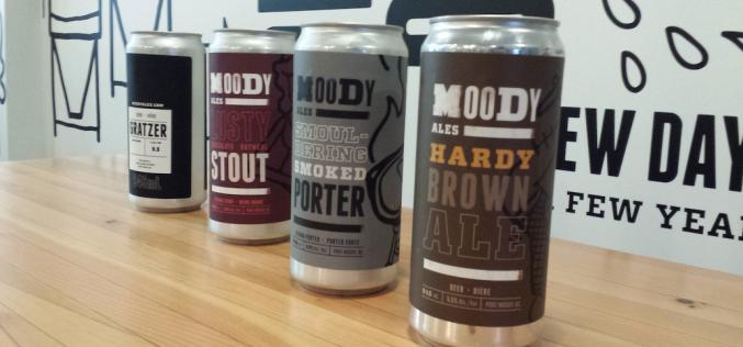 Moody Ales Releases the Crowler – A Growler Sized 946ml Beer Can