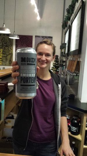 Moody Ales Crowler - a growler sized can