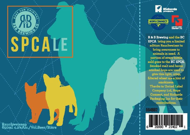 R&B Brewing SPCAle Charitable Beer