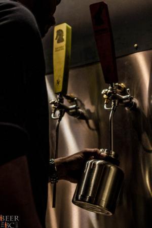 Innate Growler Brewery Fill
