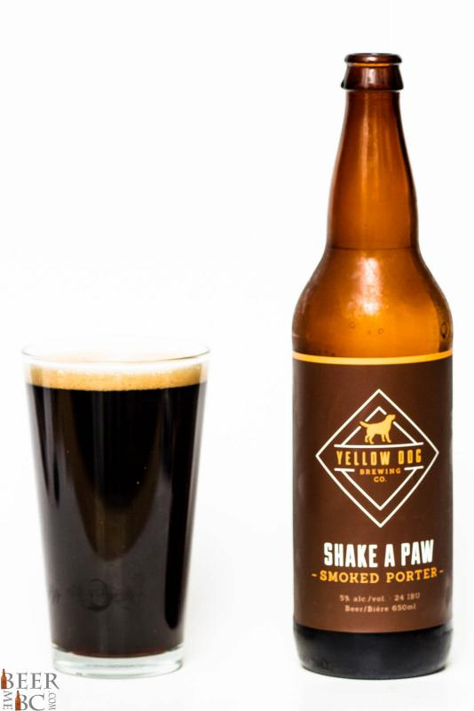 Yellow Dog Brewing Shake A Paw Smoked Porter Review