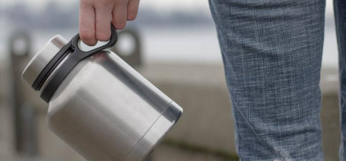 The Innate Stainless Steel Growler – function & fashion with craft beer