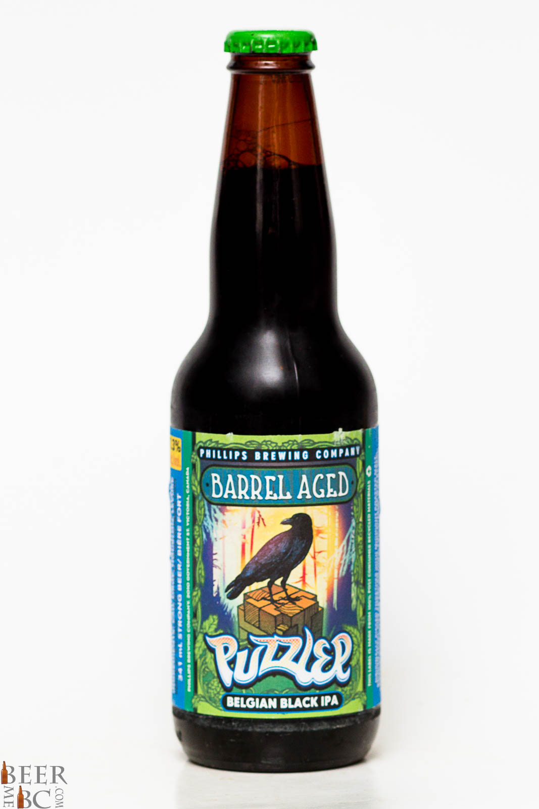 Phillips Brewing Co Barrel Aged Puzzler Belgian Black