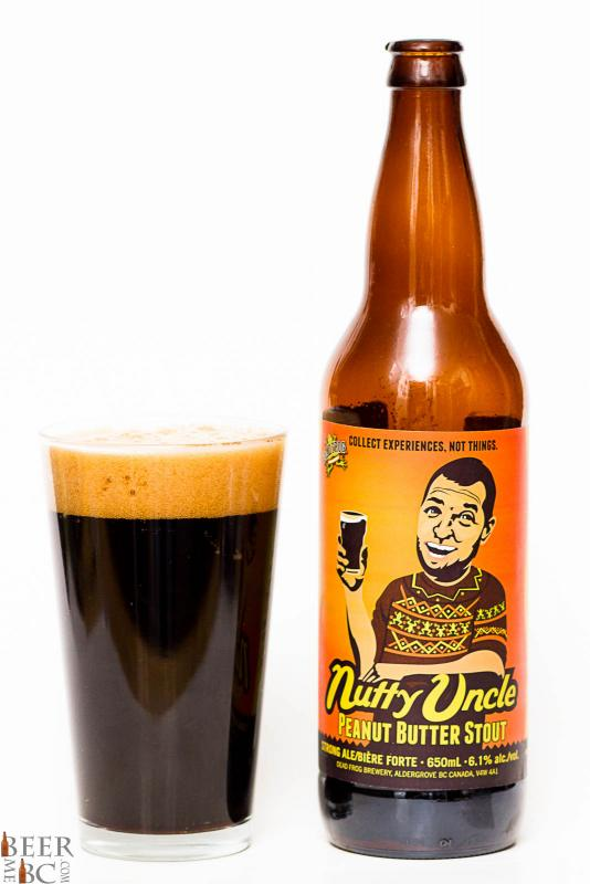 Dead Frog Nutty Uncle Peanut Butter Stout Review