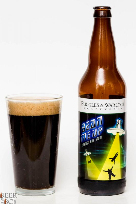 Fuggles & Warlock Beam Me Up Milk Stout review