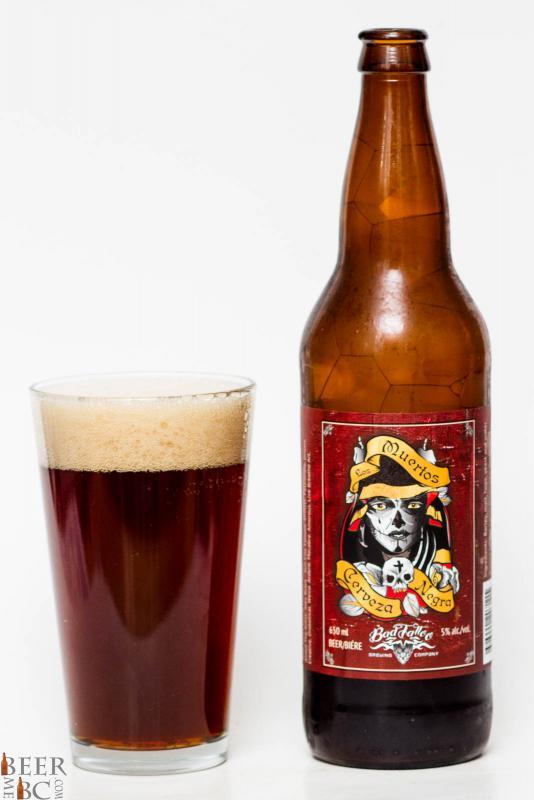 Bad Tattoo Brewing - Los Muertos Cerveza Negra