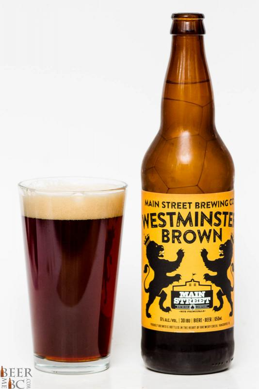 Main Street Brewing Co. - Westminster Brown Ale Review