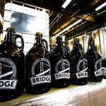 Bridge Brewing Growlers