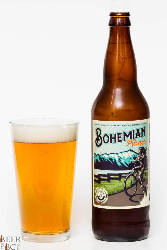 Vancouver Island Brewing - Bohemian Pilsner Review