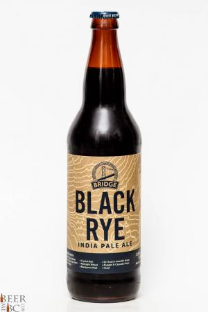 Bridge Brewing Black Rye IPA Review