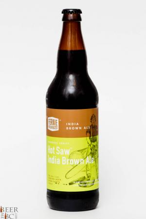 Fernie Brewing Co. - Hot Saw India Brown Ale Review