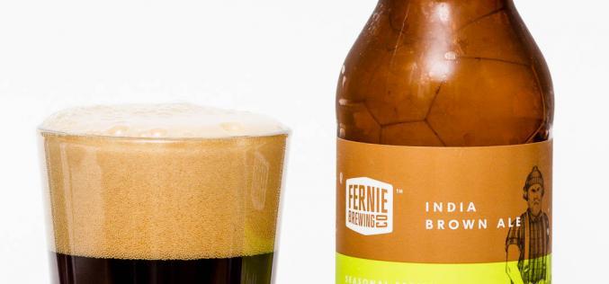 Fernie Brewing Co. – Hot Saw India Brown Ale