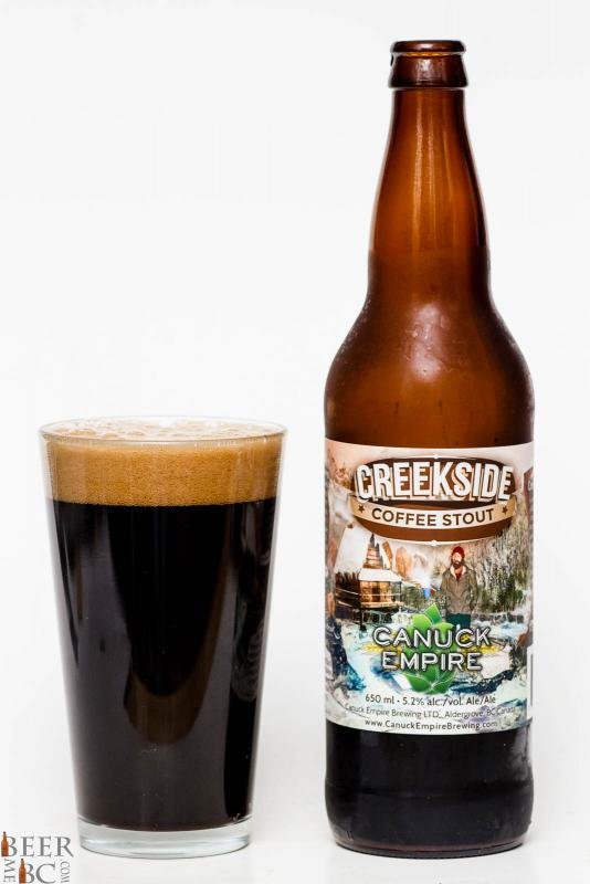 Canuck Empire Brewing - Creekside Coffee Stout Review