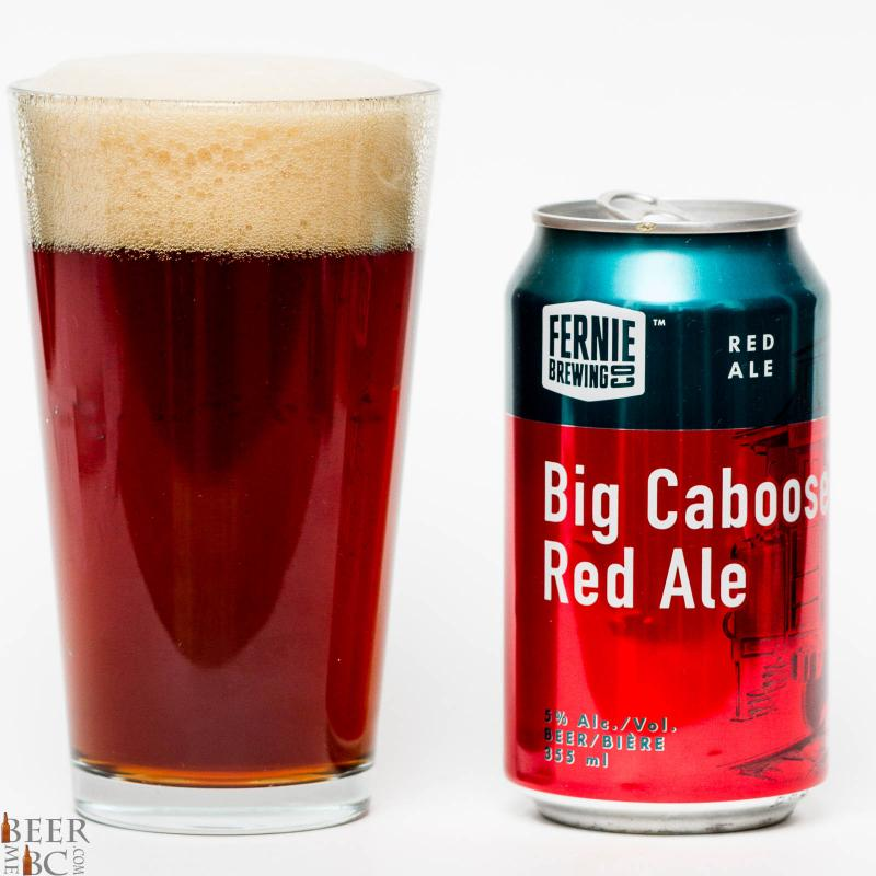 Fernie Brewing Co. - Big Caboose Red Ale Review