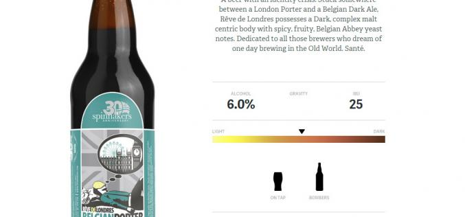 Four Seasonal Craft Beer Releases from Spinnnaker's Brewery