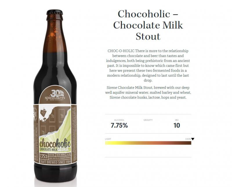 Spinnakers-chocoholic-chocolate-milk-stout