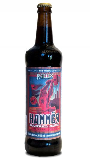 Phillips Hammer barrel aged Imperial Stout