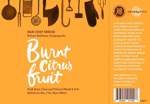 R&B Brewing - Burnt Citrus Fruit Ale