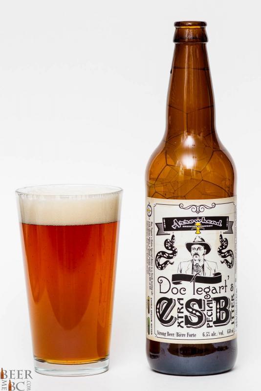 Arrowhead Brewing Co. - Doc Tegart's ESB Review