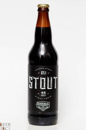 Powell Street Brewery - Stout Review
