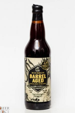 4 Mile Brewing - Barrel Aged English Strong Ale Review