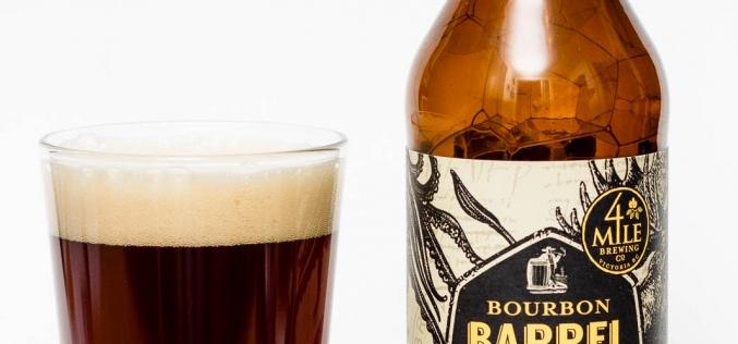 4 Mile Brewing Co – Bourbon Barrel Aged English Strong Ale