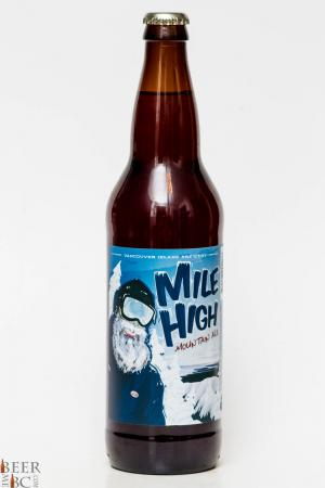 Vancouver Island Mile High Mountain Ale Review