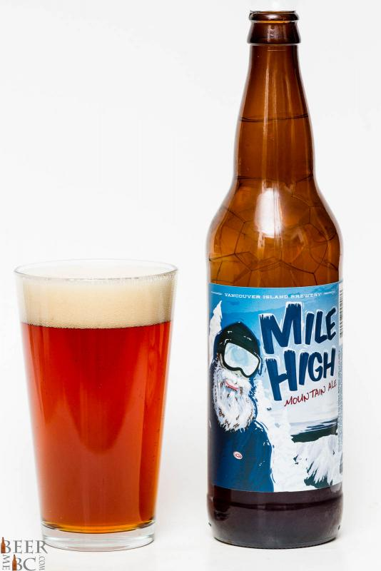 Vancouver Island Mile High Brown Ale Review