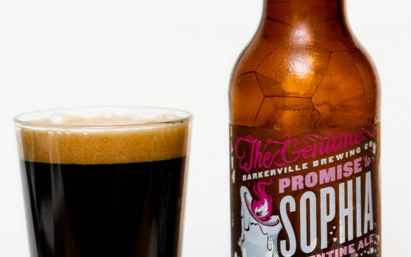 Barkerville Brewing Co. – Promise to Sophia Valentine Ale