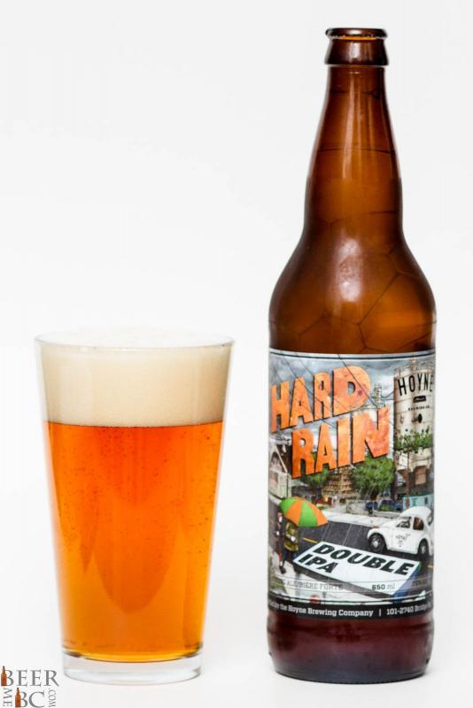 Hoyne Brewing Co. - Hard Rain Double IPA Review