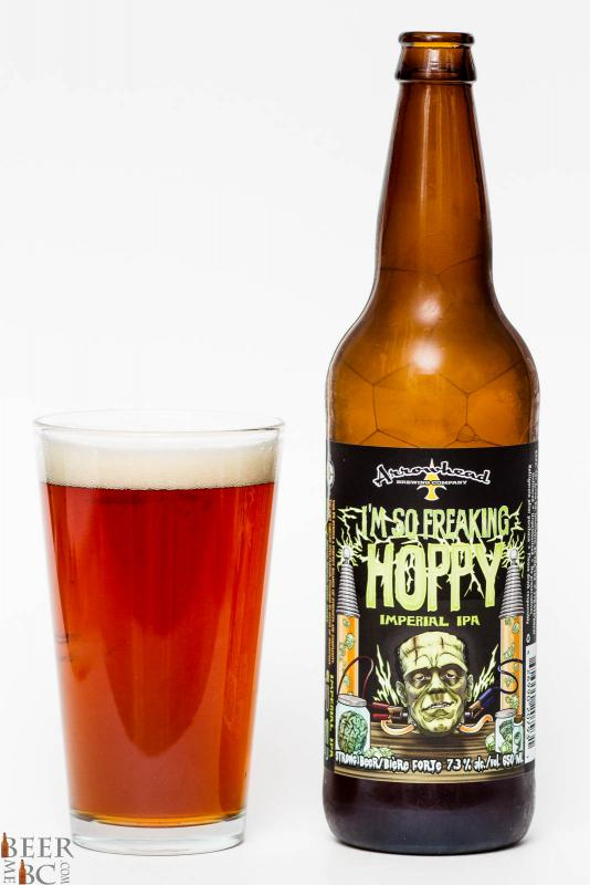 Arrowhead Brewing I'm So Freaking Hoppy Imperial IPA Review