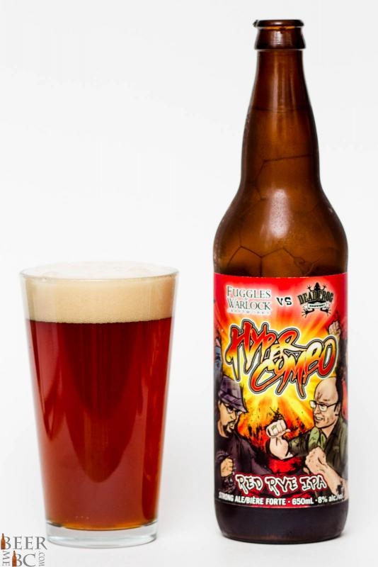 Fuggles & Warlock & Dead Frog Hyper Combo Red Rye IPA Review