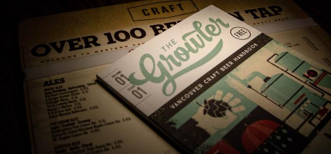 The Growler Magazine Launches in Vancouver at CRAFT