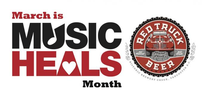 Red Truck Sponsors 'Music Heals Month' In Vancouver