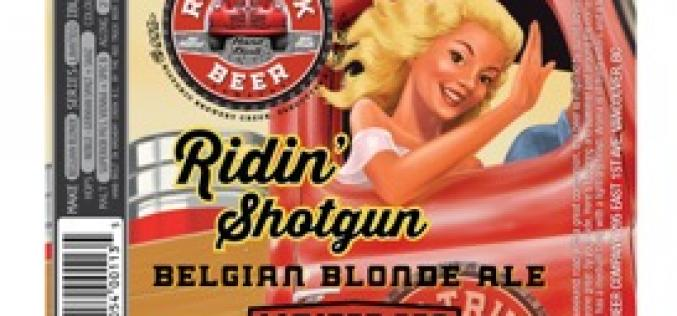 Red Truck Beer Launches Ridin' Shotgun Belgian Blonde Ale