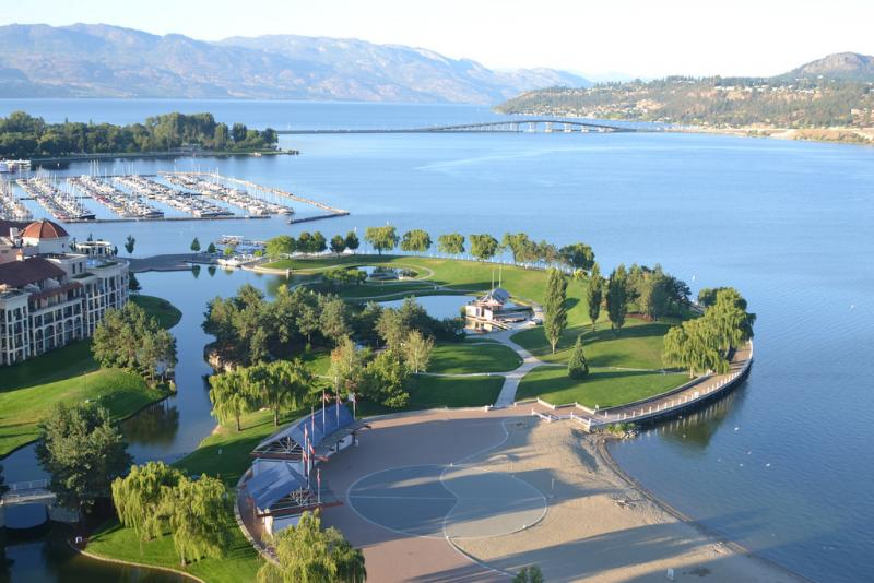 Waterfront Park - Tourism Kelowna