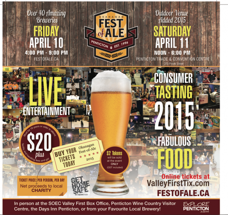 2015 Okanagan Fest Of Ale Poster
