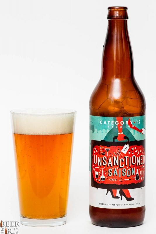 Category 12 Brewing - Unsanctioned Saison Review