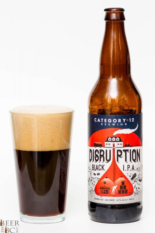 Category 12 Brewing Disruption Black IPA Review