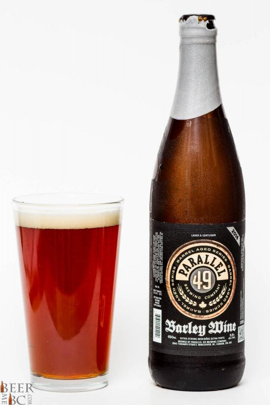 Parallel 49 Brewing Co. - 2015 Barley Wine Review