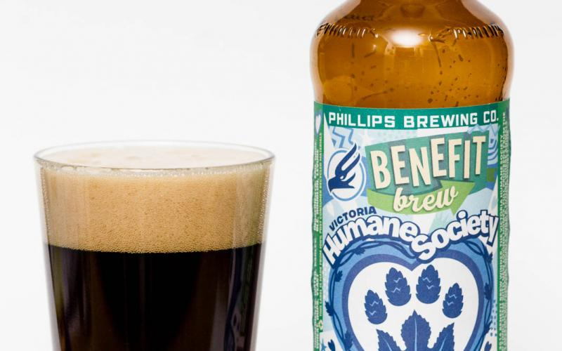 Phillips Brewing Co. – Benefit Brew Dunkleweizen – Victoria Humane Society