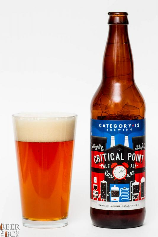 Category 12 Brewing Critical point Pale Ale