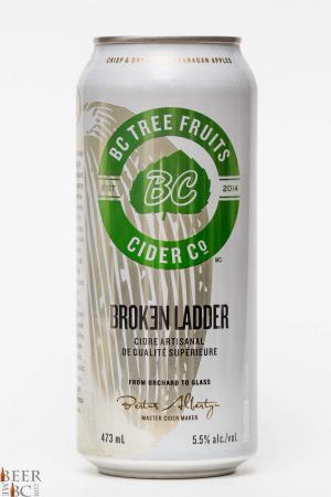 BCTF - BC Tree Fruits Cider Co. - Broken Ladder Apple Cider Review