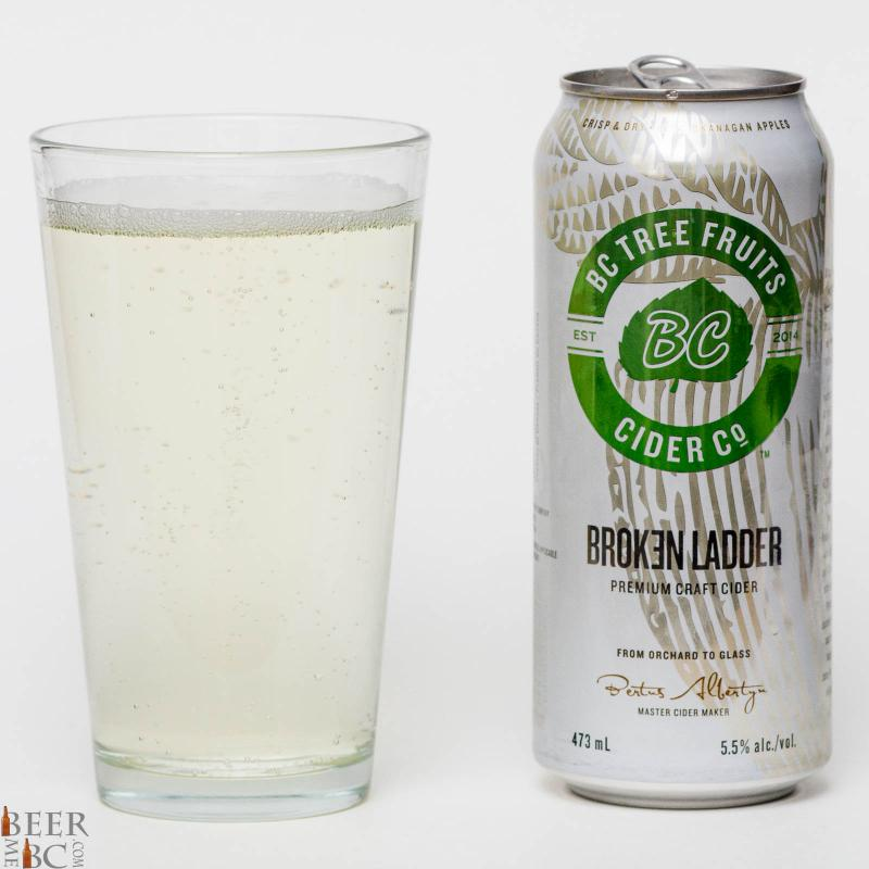 BCTF - BC Tree Fruits Cider Co. - Broken Ladder Apple Cider Review