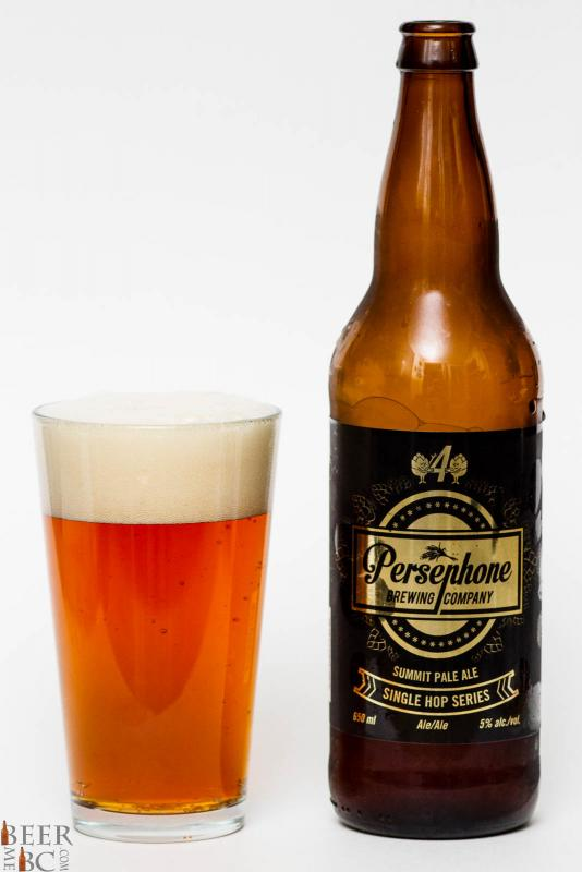Persephone Brewing Co. Single Hop #4 Summit Pale Ale Review