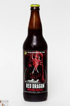 Dead Frog Red Dragon Imperial Red Ale Review