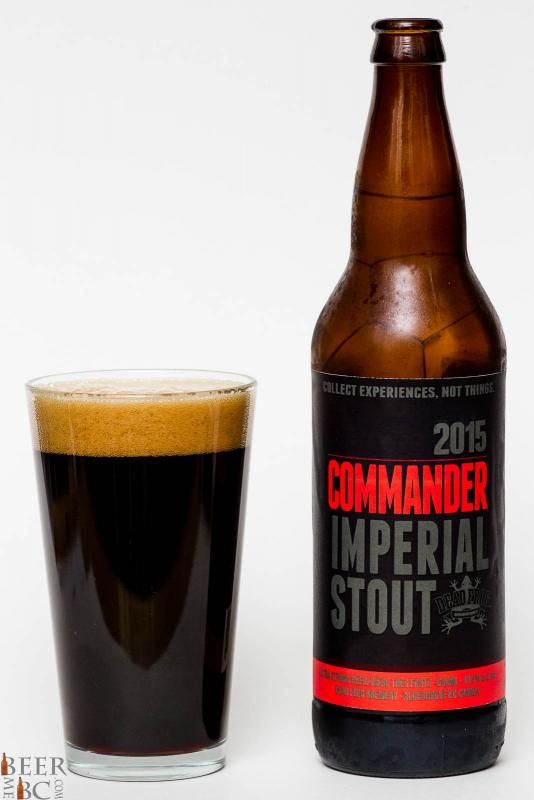 Dead Frog 2015 Commander Imperial Stout Reiview