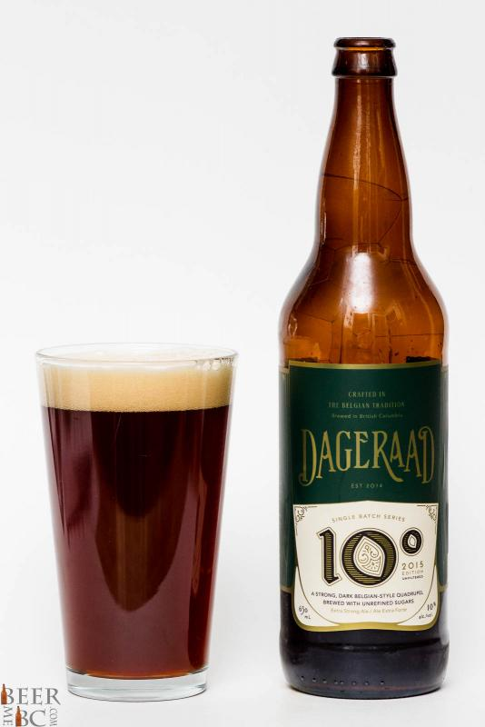 Dageraad Brewing 10 degrees Belgian Quad Review